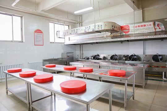 我们做菜的教室