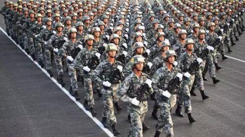 致敬!中国军人